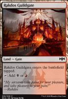 Ravnica Allegiance: Rakdos Guildgate (255 A)