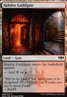 Ravnica Allegiance: Rakdos Guildgate (256 B)