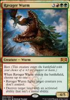 Ravnica Allegiance: Ravager Wurm