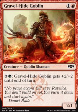 Ravnica Allegiance: Gravel-Hide Goblin