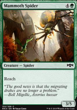 Ravnica Allegiance: Mammoth Spider