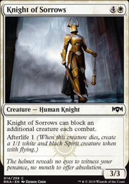 Ravnica Allegiance: Knight of Sorrows