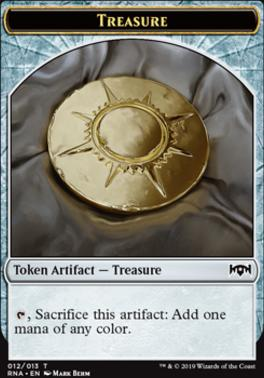 Ravnica Allegiance: Treasure Token