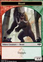 Ravnica Allegiance: Beast Token