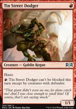 Ravnica Allegiance: Tin Street Dodger