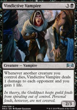 Ravnica Allegiance: Vindictive Vampire