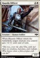 Ravnica Allegiance Foil: Haazda Officer