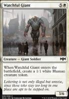 Ravnica Allegiance Foil: Watchful Giant