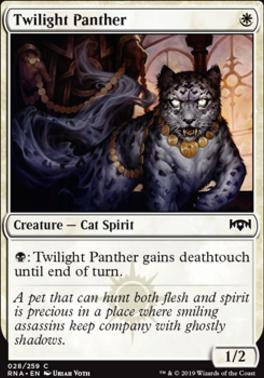 Ravnica Allegiance: Twilight Panther