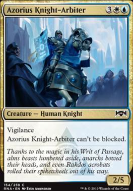 Ravnica Allegiance: Azorius Knight-Arbiter