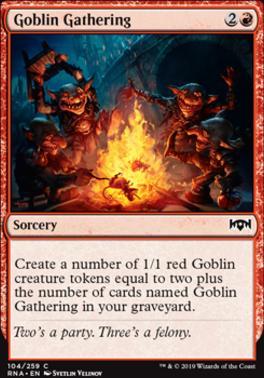 Ravnica Allegiance: Goblin Gathering