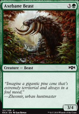 Ravnica Allegiance: Axebane Beast
