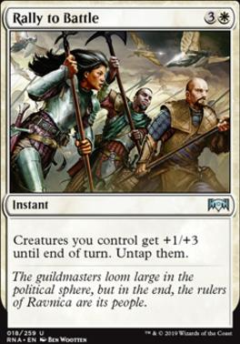 Ravnica Allegiance Foil: Rally to Battle