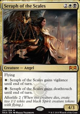 Ravnica Allegiance Foil: Seraph of the Scales