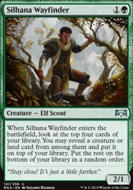 Ravnica Allegiance: Silhana Wayfinder