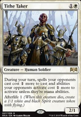 Ravnica Allegiance: Tithe Taker