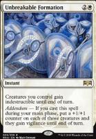 Ravnica Allegiance: Unbreakable Formation