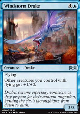 Ravnica Allegiance: Windstorm Drake