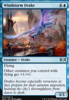 Ravnica Allegiance Foil: Windstorm Drake