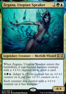 Ravnica Allegiance: Zegana, Utopian Speaker