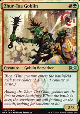 Ravnica Allegiance: Zhur-Taa Goblin