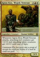 Ravnica: Agrus Kos, Wojek Veteran
