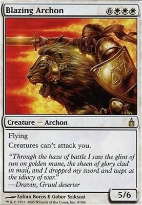 Ravnica: Blazing Archon