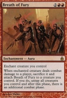 Ravnica Foil: Breath of Fury