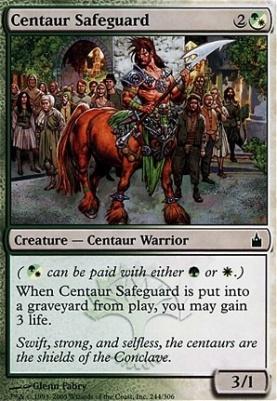 Ravnica Foil: Centaur Safeguard