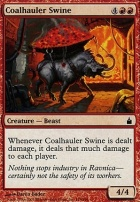 Ravnica Foil: Coalhauler Swine