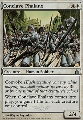 Ravnica Foil: Conclave Phalanx