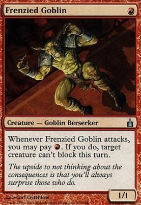 Ravnica Foil: Frenzied Goblin