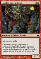 Ravnica Foil: Goblin Spelunkers