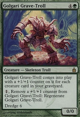 Ravnica: Golgari Grave-Troll