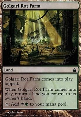 Ravnica: Golgari Rot Farm