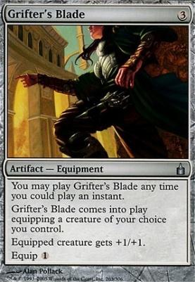 Ravnica Foil: Grifter's Blade