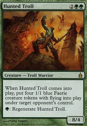 Ravnica Foil: Hunted Troll