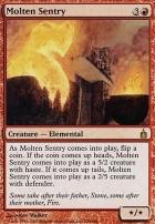 Ravnica: Molten Sentry