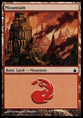 Ravnica: Mountain (300 B)
