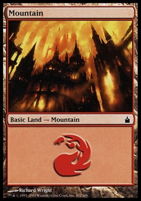 Ravnica: Mountain (302 D)
