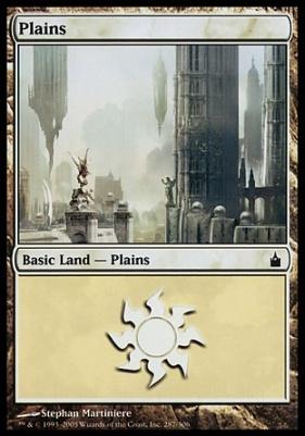 Ravnica: Plains (287 A)