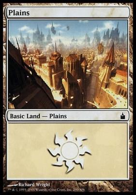 Ravnica Foil: Plains (290 D)