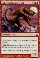 Ravnica Foil: Sabertooth Alley Cat