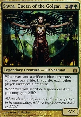 Ravnica: Savra, Queen of the Golgari