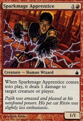 Ravnica: Sparkmage Apprentice