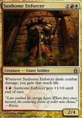 Ravnica Foil: Sunhome Enforcer