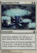 Ravnica: Suppression Field