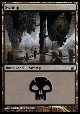 Ravnica: Swamp (296 B)