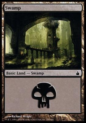Ravnica Foil: Swamp (298 D)