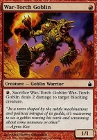 Ravnica: War-Torch Goblin
